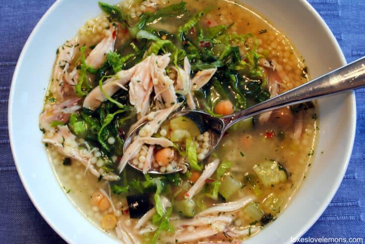 Lemon-Chicken & Pepe Soup