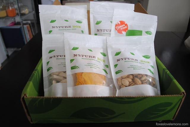 Naturebox Review - Review of Naturebox snack delivery service.
