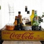 A Coca-Cola Crate and the Treasures I Keep In It