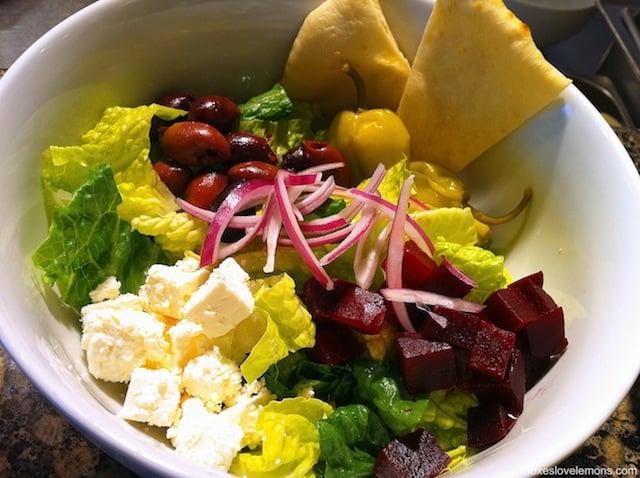 Greek Salad | foxeslovelemons.com
