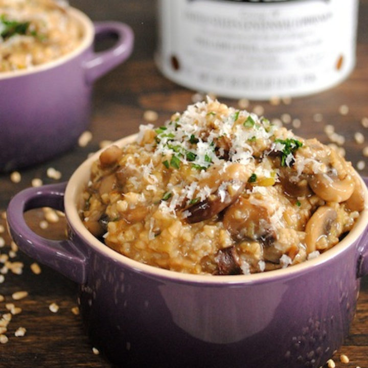 Savory Mushroom Oatmeal