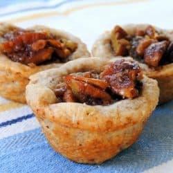 "Chocolate-Ginger Brownies, Pecan Tassies & Gingersnap-Raspberry Sandwiches from ""Martha Stewart's Cookies""   foxeslovelemons.com"