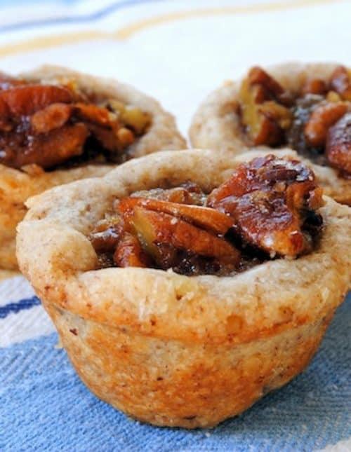 "Chocolate-Ginger Brownies, Pecan Tassies & Gingersnap-Raspberry Sandwiches from ""Martha Stewart's Cookies"" | foxeslovelemons.com"