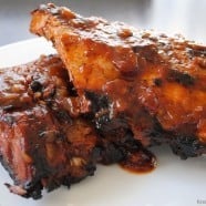 Appetizing & Wonderful (A & W) ROOT BEER Ribs | foxeslovelemons.com