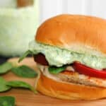 Green Goddess Chicken Sandwiches #SundaySupper