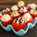 Cannoli Strawberries #SundaySupper