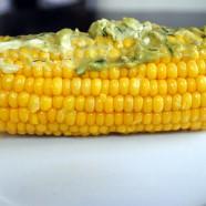 Avocado-Basil Butter Corn Topping