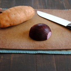 Culinary School Lesson: Cutting Board Safety - How to turn any cutting board into a safe, non-slip surface for easy chopping! | foxeslovelemons.com