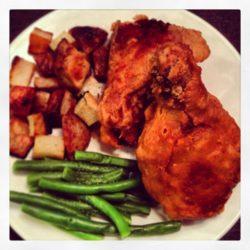 Extra Crispy Fried Chicken from Saveur's September 2013 Issue | foxeslovelemons.com