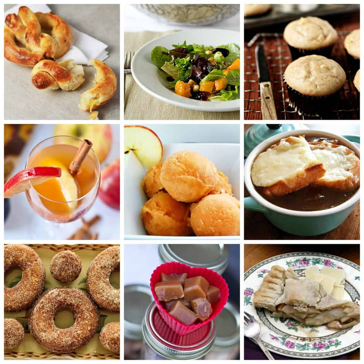 Sweet and Savory Apple Cider Recipe Roundup