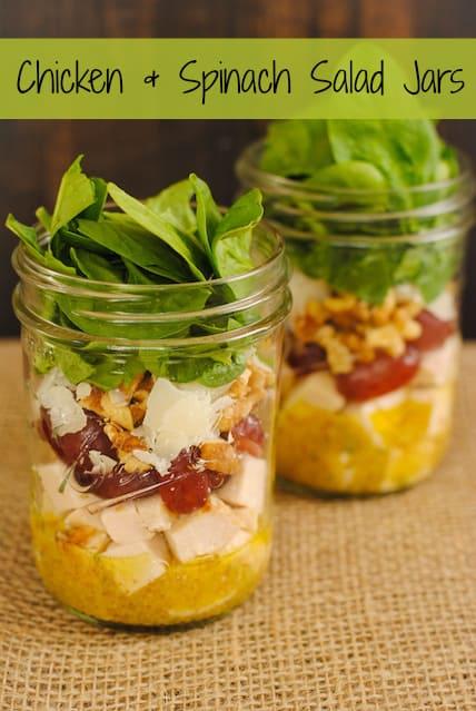 Marinated White Bean Salad Jars - Foxes Love Lemons