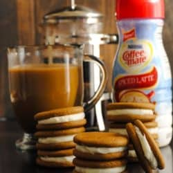 Coffee-Mate Spiced Latte Cookies | foxeslovelemons.com
