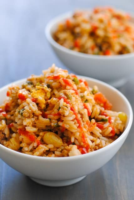 Picadillo Fried Rice
