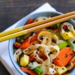 Sweet & Sour Vegetarian Stir-Fry #SundaySupper