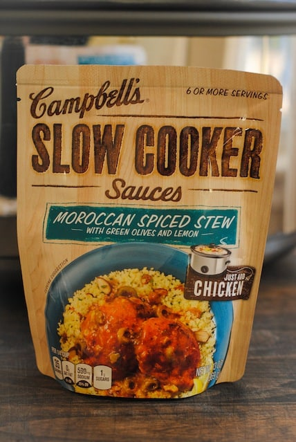 Campbell's Moroccan Spiced Stew Slow Cooker Sauce