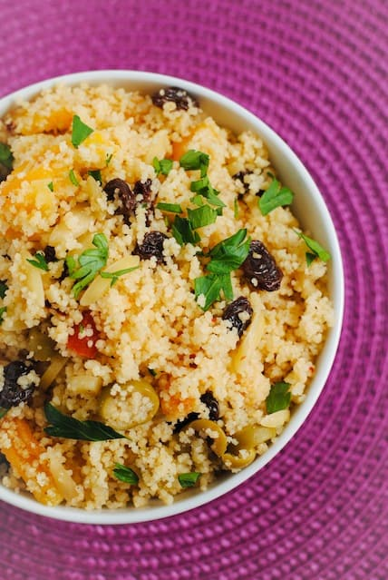 Fruit & Nut Couscous Pilaf