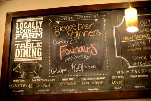 Restaurant Review: Grange Kitchen & Bar in Ann Arbor, Michigan | foxeslovelemons.com