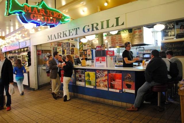 Market Grill Pike Place Market Seattle | foxeslovelemons.com