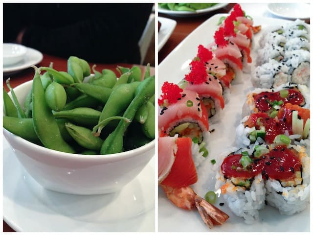 Sushi Bella Vancouver | foxeslovelemons.com