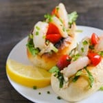 Shrimp Scampi Rolls with Old Bay Mayo