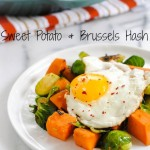 Sweet Potato & Brussels Hash