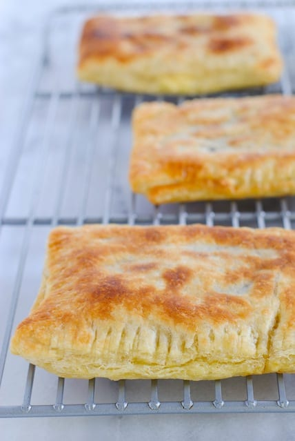 Chipotle Steak Grown-Up Hot Pockets  - Make now, freeze for workday lunches later! | foxeslovelemons.com