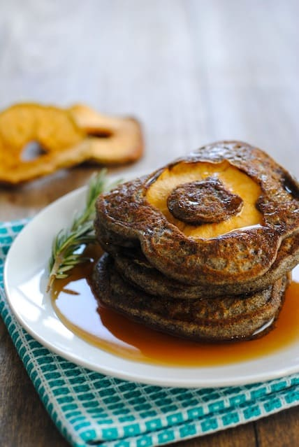 Apple-Rosemary Pancakes