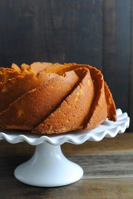 Meyer Lemon Bundt Cake with Vanilla Bean Icing   www.foxeslovelemons.com