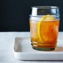 Meyer Lemon-Vanilla Bean Bourbon Smash | www.foxeslovelemons.com