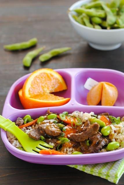 Orange Beef & Veggie Stir-Fry