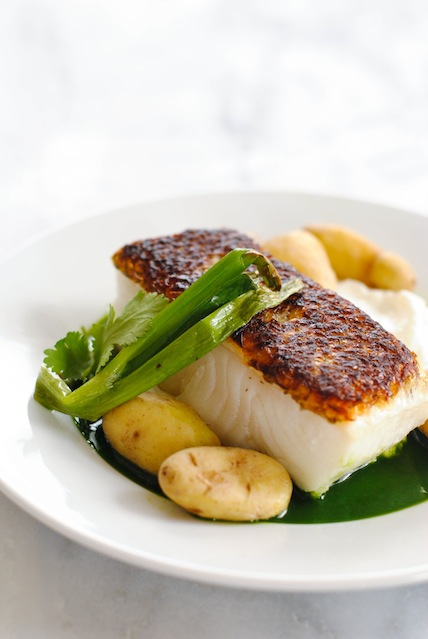 Chilean sea bass recipe