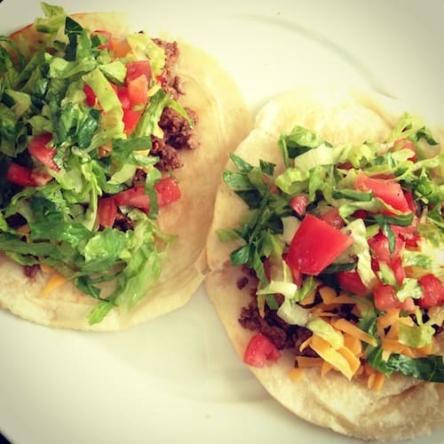 Classic tacos for two (or a big group!) in exactly 20 minutes. | foxeslovelemons.com
