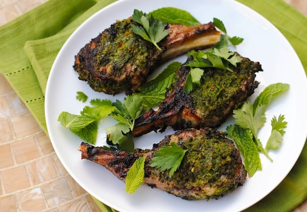 how to make grilled lamb chops tender