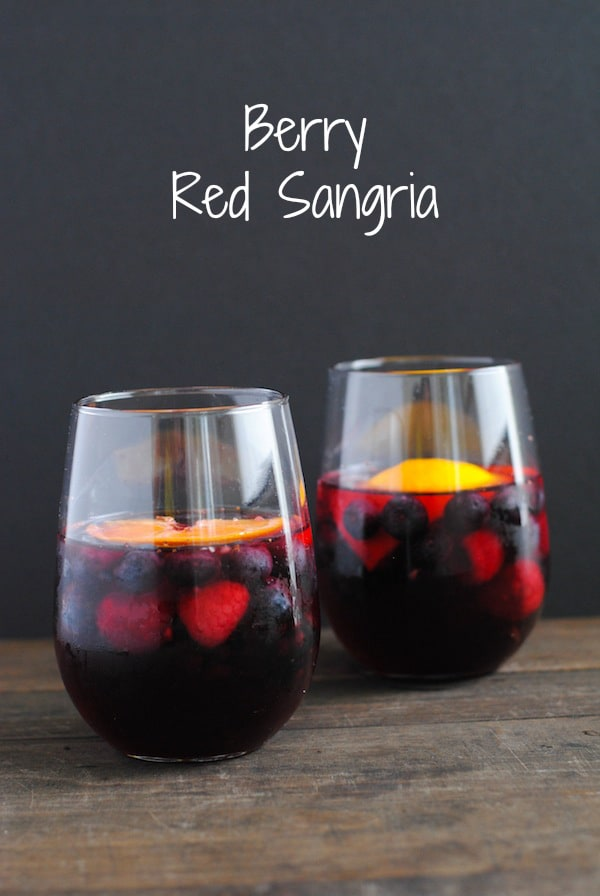 Berry Red Sangria | Sangria Party Week 2014 | foxeslovelemons.com