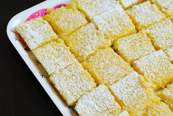 Lemon Bars | Sangria Party Week 2014 | foxeslovelemons.com