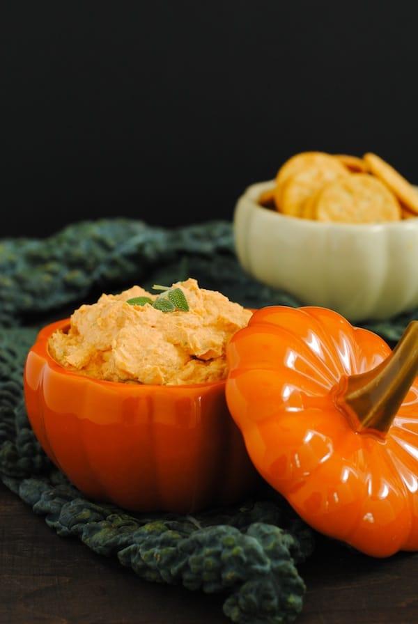 Creamy Pumpkin Parmesan Dip
