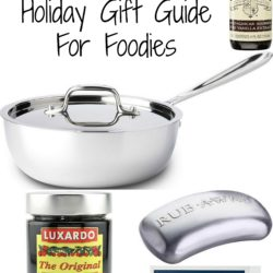 2014 Holiday Gift Guide for Foodies | foxeslovelemons.com