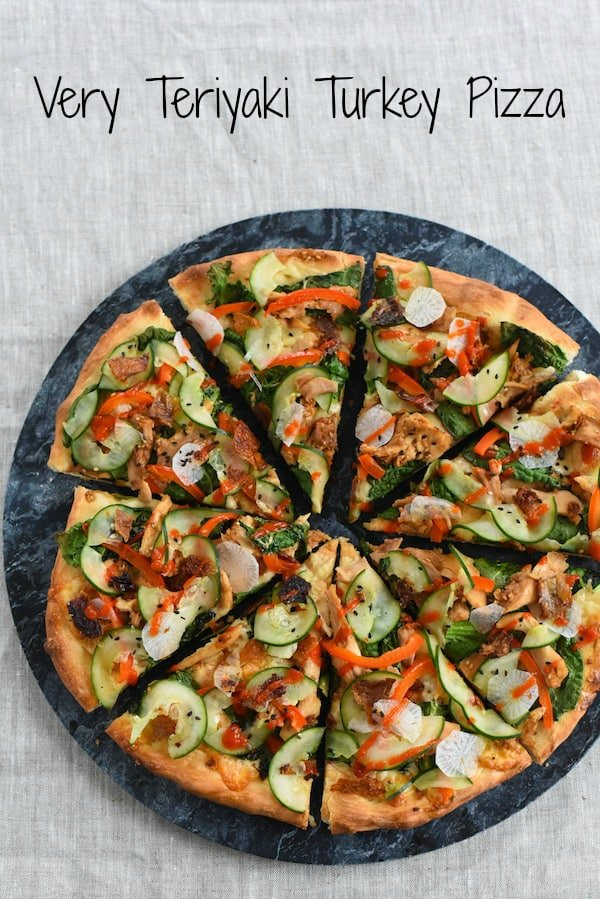 Very Teriyaki Turkey Pizza - Foxes Love Lemons - photo#40