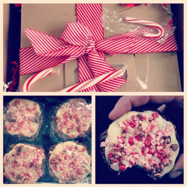 Chocolate Truffle Peppermint Crunch Cookies from SugarHero | foxeslovelemons.com