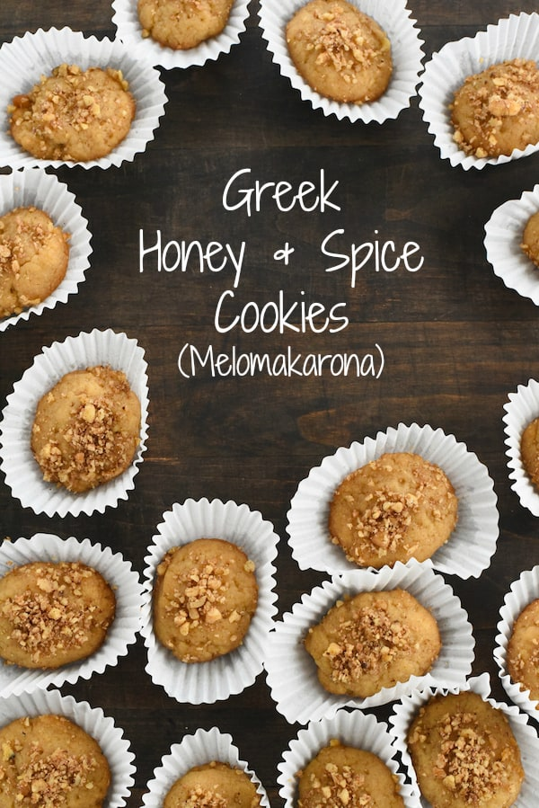 greek honey spice cookies melomakarona all the flavors of baklava in - Greek Christmas Cookies
