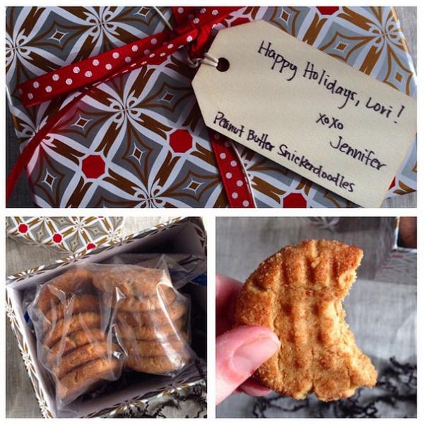 Peanut Butter Snickerdoodles from Bake or Break | foxeslovelemons.com