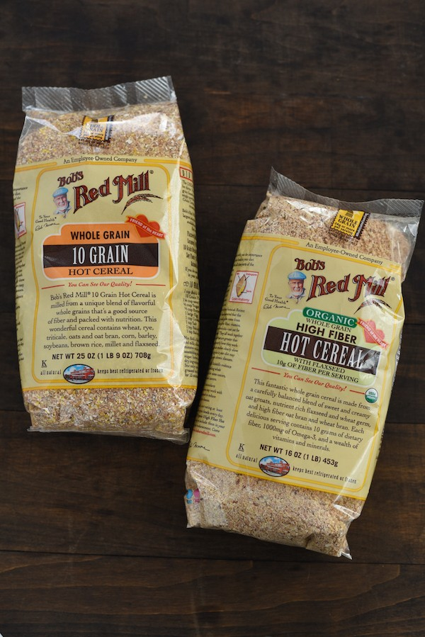 Meyer Lemon & Poppyseed Hot Cereal - A nutrient-packed breakfast with a flavor inspired by lemon-poppyseed muffins!   foxeslovelemons.com