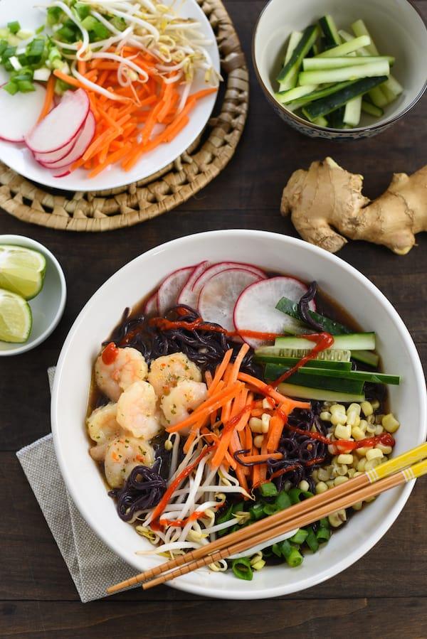 Quick-Fix Fancy Shrimp Ramen