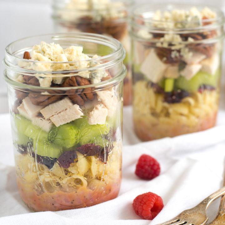 Sonoma Chicken Pasta Salad Jars