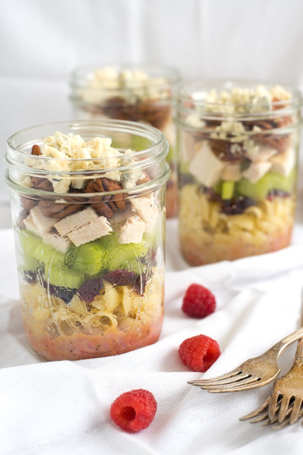 Sonoma Chicken Pasta Salad Jars