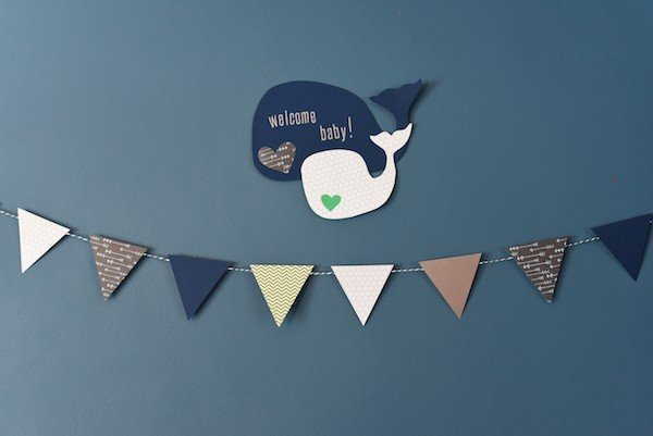 Whale-Themed Baby Shower | foxeslovelemons.com