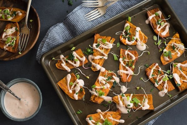 Tandoori Sweet Potato Skins