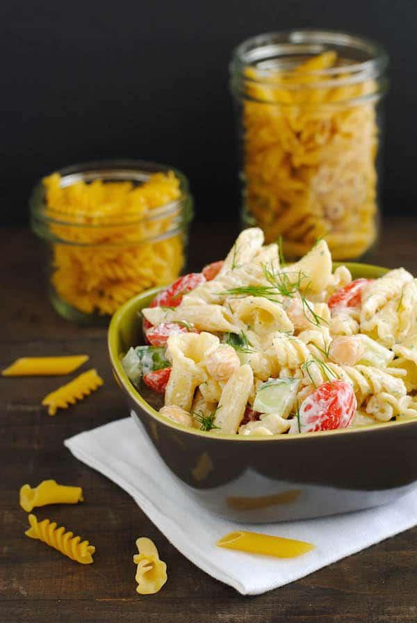 Mixed Shape Pasta Salad