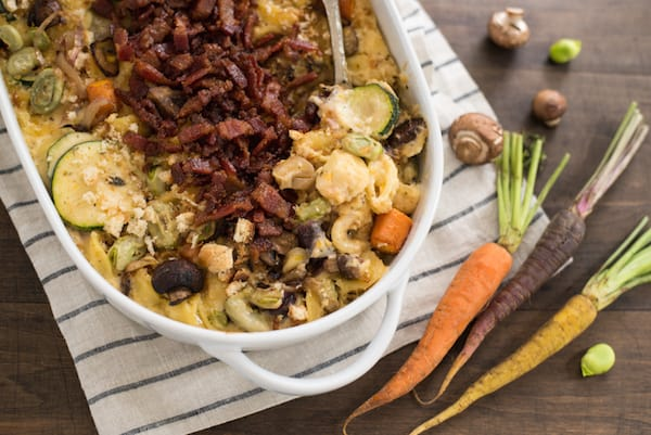 Farmer's Market Mac & Cheese with Candied Bacon