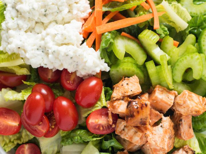 Terrific Buffalo Chicken Salad With Ranch Cottage Cheese Interior Design Ideas Clesiryabchikinfo